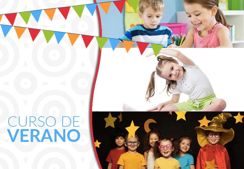 Curso de Verano, niños 3 a 8 años