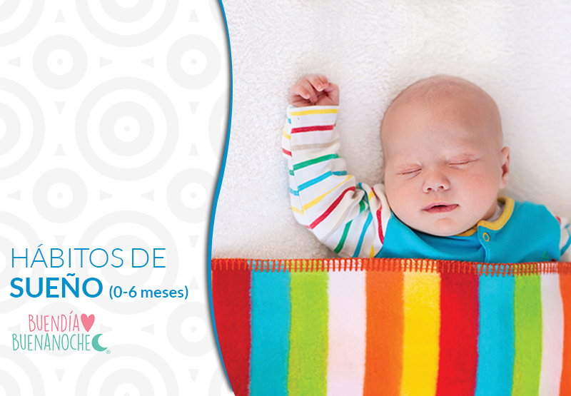 Hábitos de sueño, Método Preventivo ( 0 a 6 meses)