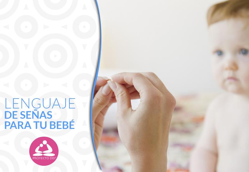Lenguaje de señas con tu bebé