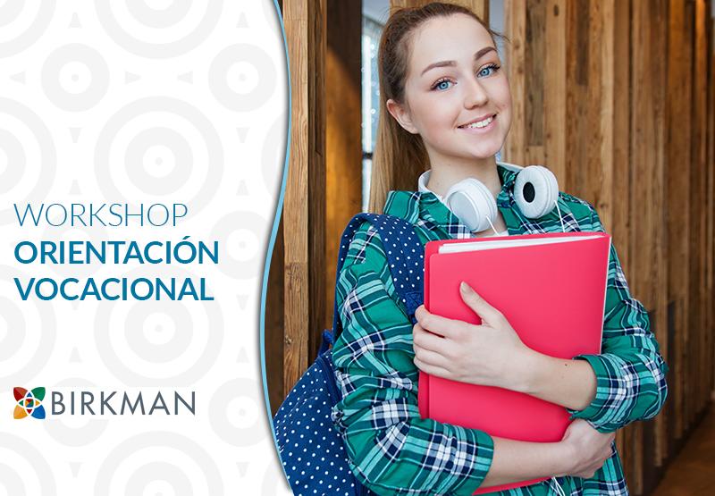 Orientación Vocacional, taller para adolescentes