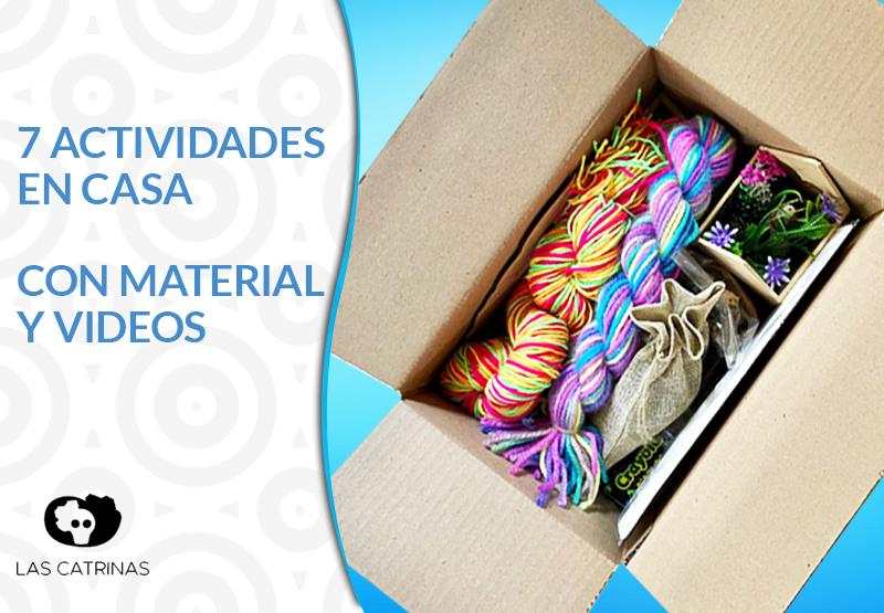 Clases Arte con kit de materiales #encasa