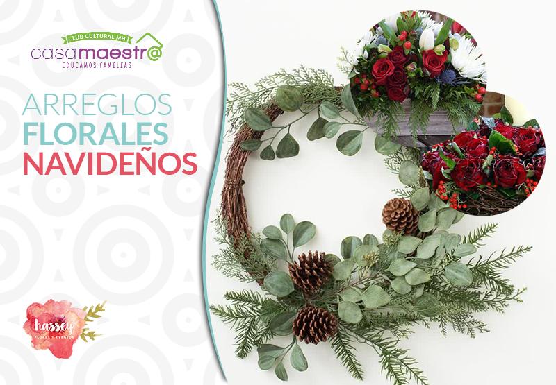 Arreglos Florales, especial de Navidad
