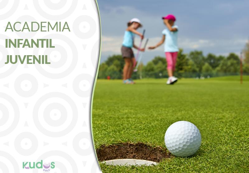 Academia de golf para niños